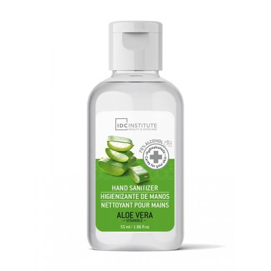 Hand & Apparaten-Sanitizer Gel 55 ml - Aloe Vera