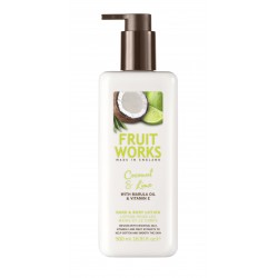 Fruit Works Coconut & Lime Hand & Body Lotion | 500 ml