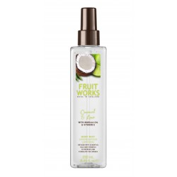 Fruit Works Coconut & Lime Body Mist | 250 ml