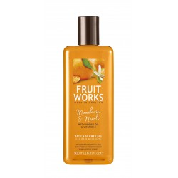 Fruit Works Mandarin & Neroli Bath & Shower Gel | 500 ml