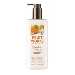 Fruit Works Mandarin & Neroli Hand & Body Lotion | 500 ml