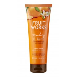 Fruit Works Mandarin & Neroli Body Scrub | 225 ml