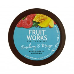 Fruit Works Raspberry & Mango Body Butter | 225 gr