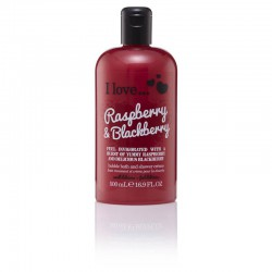 I LOVE Bath Shower Raspberry Blackberry