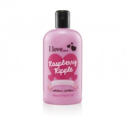 I LOVE Bath Shower Raspberry Ripple
