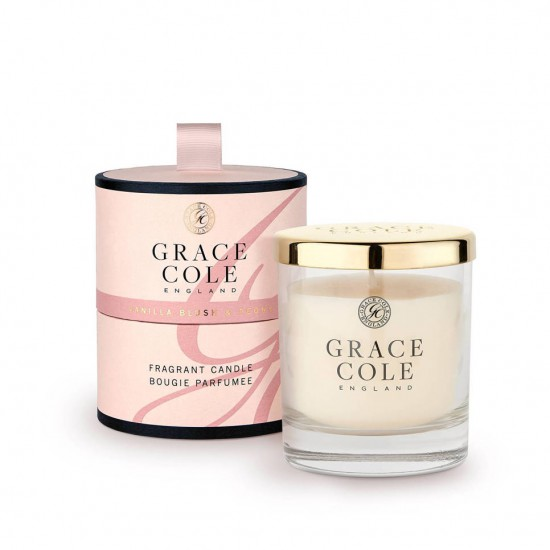 GRACE COLE Signature Vanilla Blush & Peony 200gr Candle