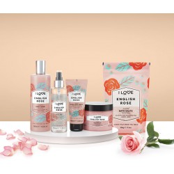 I LOVE SCENTS English Rose Bath Salts