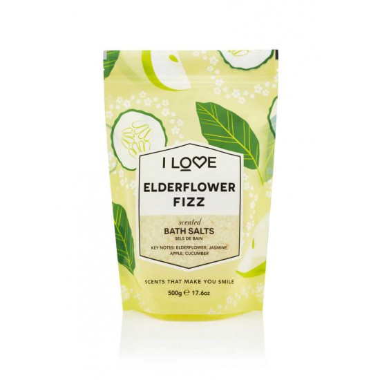 I LOVE SCENTS Elderflower Fizz Bath Salts