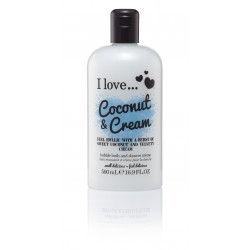 I LOVE Bath & Shower Coconut Cream