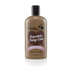 I LOVE Bath & Shower Chocolate Fudge Cake